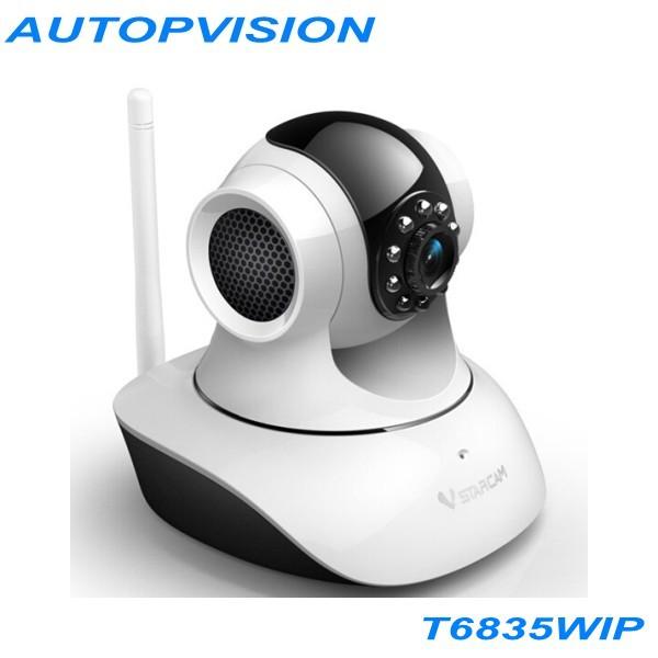 Фотография Wireless P2P Plug and Play IR-Cut Night Vision Pan/Tilt Two Way Audio Vstarcam T6835 IP Camera