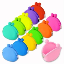 EQ6008 NEW MINI women wallets fashion women messenger bags silicone coin purse baby toys children gift(China (Mainland))