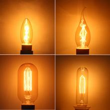 Hot Selling Vintage E14 Edison Bulb 40W 220V Retro Incandescent Light Bulb For Living Room Bedroom Wholesale Free Shipping(China (Mainland))