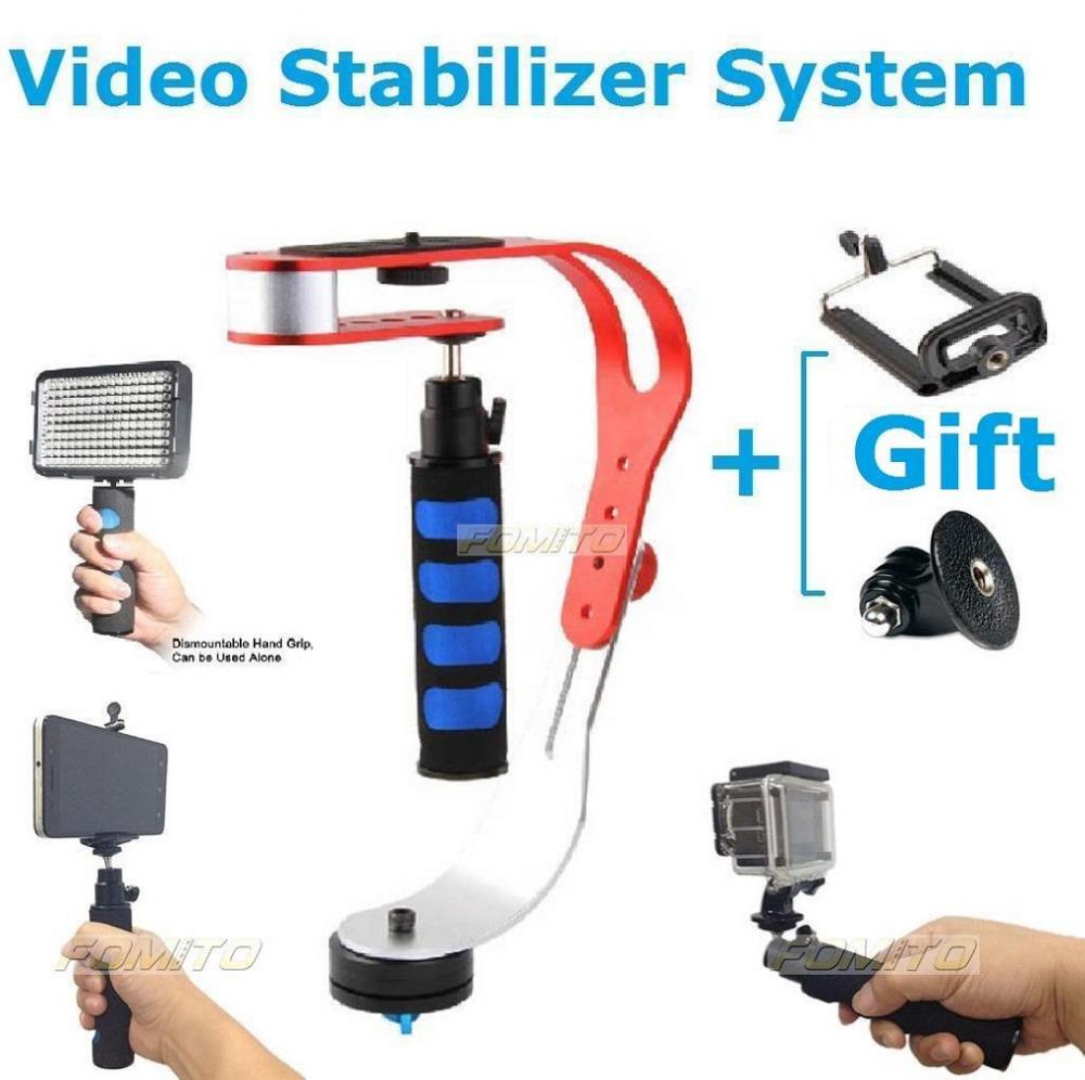 Free Shipping mini straight hand-held Gopro stabilizer ,Video Camera Steadicam Stabilizer for GoPro Hero 4/3/ 3 plus(China (Mainland))