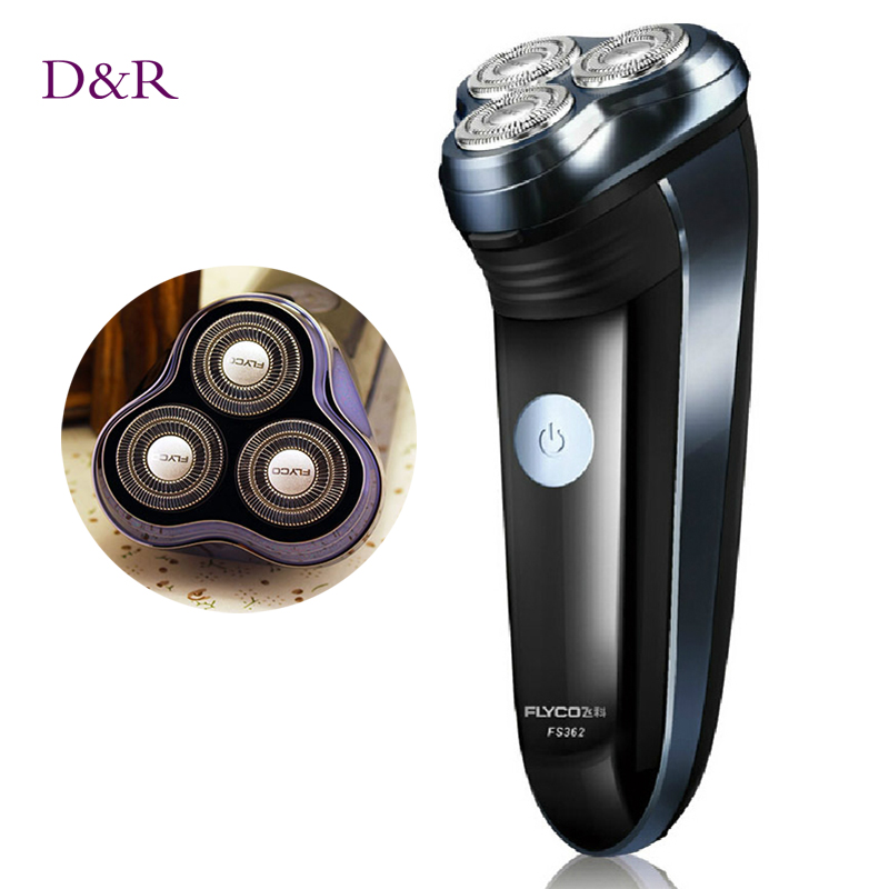 D&amp;R Rechargeable Triple Blade Hair Removal Electric Shavers for men Beard Shaving Machine Razor Trimmer <br><br>Aliexpress