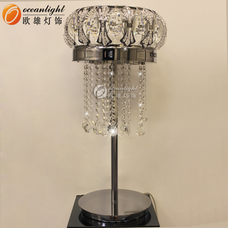 modern transparent crystal table lamp bedroom desk lamp room lighting