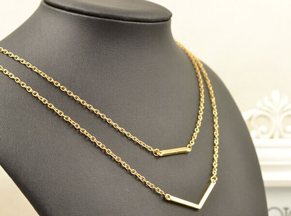 New Fashion jewelry layered necklace for Women Girl gifts wholesale N1563