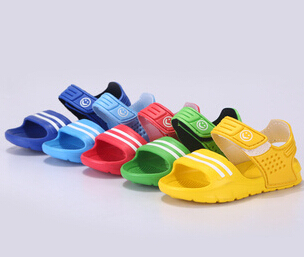 Hot free shipping Summer children sandals slip-resistant wear-resistant small boy casual sandals girls boys  summer sandals<br><br>Aliexpress