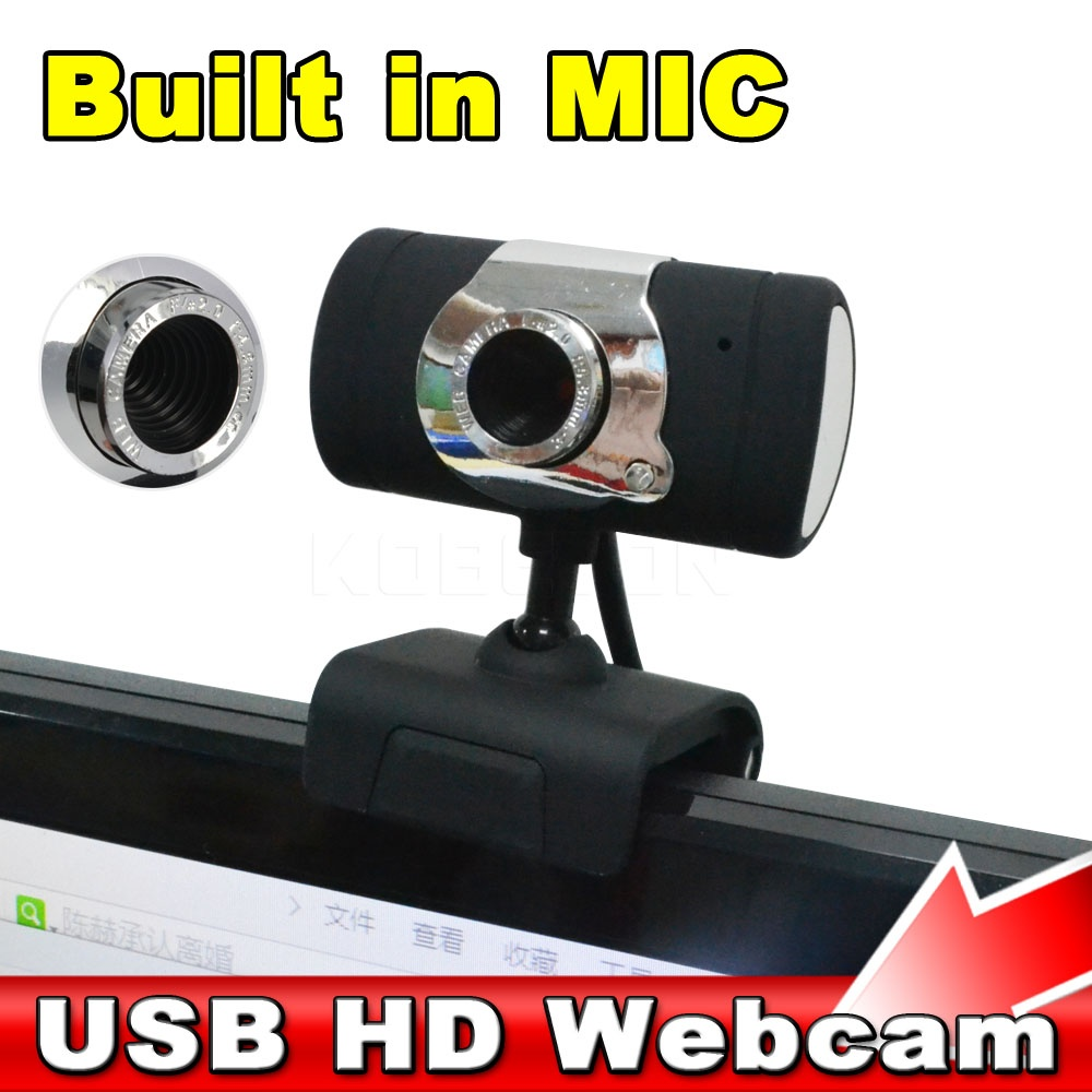 2016 Hot USB 2.0 30 mega Pixel Web Cam HD Web Cam Camera WebCam With MIC Microphone Black color For Computer PC Laptop NotebooK(China (Mainland))