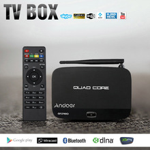 Andoer F7 Android 4.4 TV Box RK3128 Quad-Core Smart Set Top Box 1G/8G 1080P Mini PC 3D Kodi XBMC Miracast DLNA WiFi Media Player(China (Mainland))