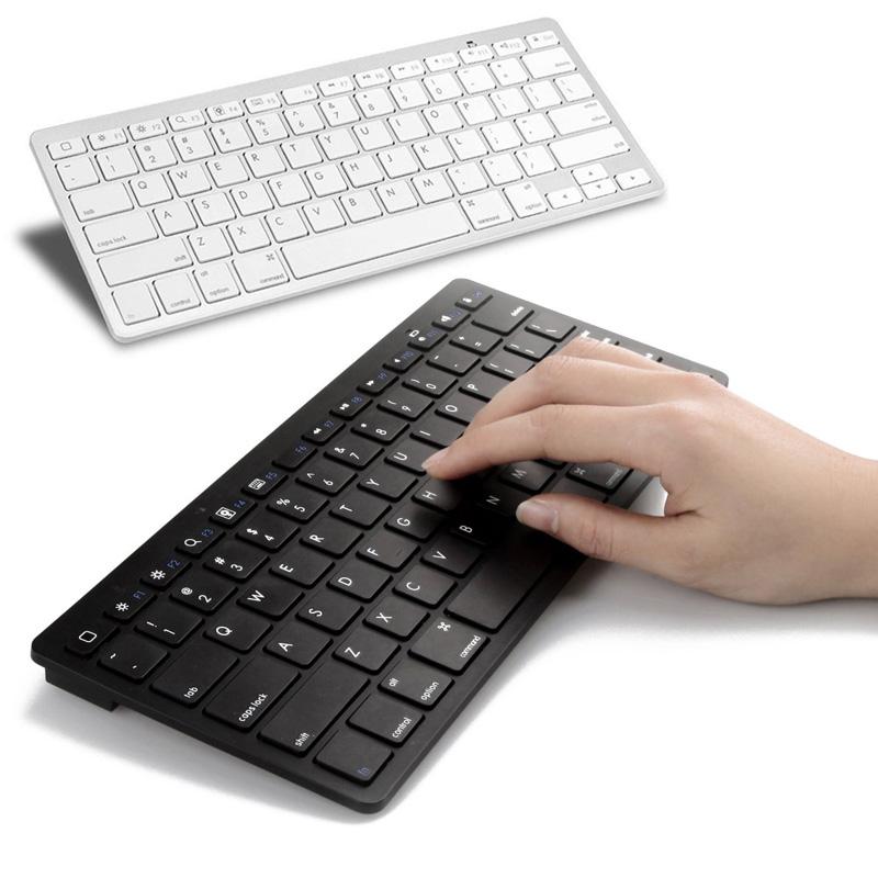 Ultra-slim Wireless Keyboard Bluetooth 3.0 for Apple iPad/iPhone Series/Mac Book/Samsung Phones/PC Computer High Qualit(China (Mainland))