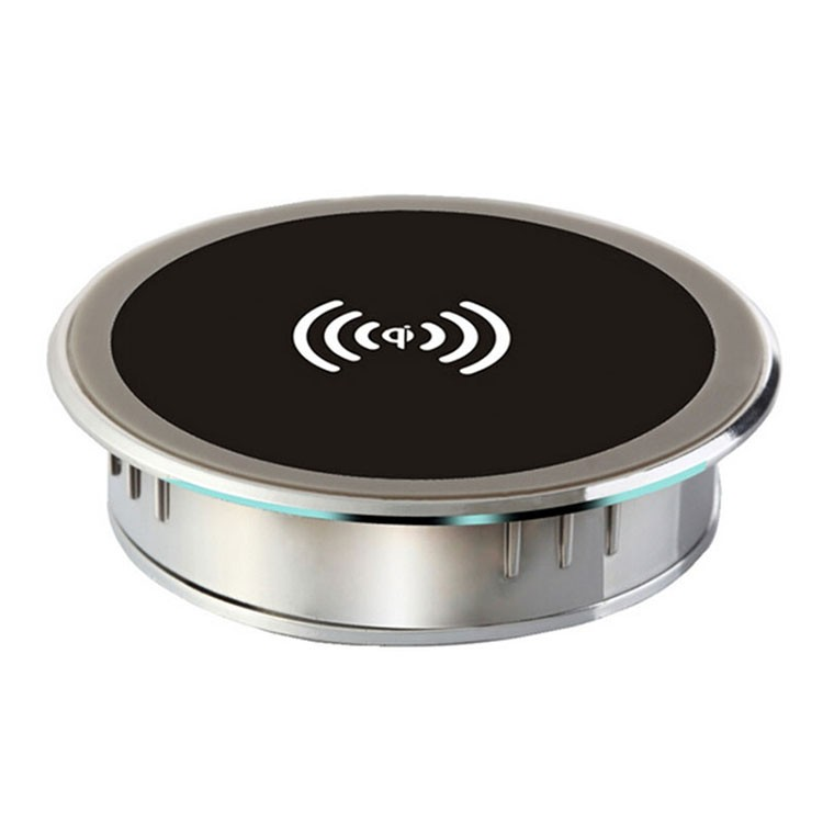 New Cylindric Qi Wireless Charger Charging Plate Portable Power Charging Pad Mini Charger Mat Mobile Power Transmitter For phone(China (Mainland))