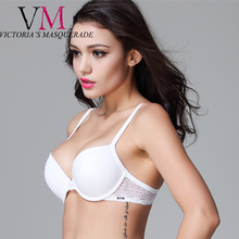 Bee dees Fashion BH Push Up Lace Applique High Quality Bra Titanium Underwire Intimate Fashion Bra Sexy Lingerie For Women
