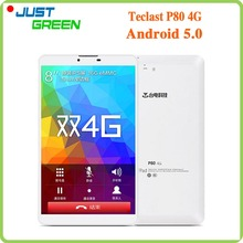 "Teclast P80 4G Android 5.0 MID MTK8735 Quad Core 8"" 1280x800 IPS 1GB RAM 16GB ROM 2MP Camera Phone Call GPS 3500mAh Tablet(China (Mainland))"