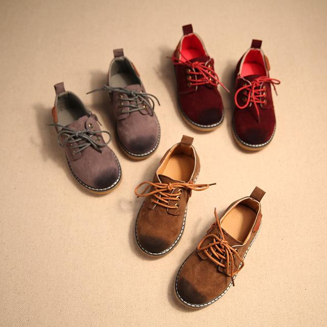2016 весной детская обувь мальчики старинные обувь детей кроссовки дети нубук мартин обувь связать девушки кроссовки обувь кроссовки детские обувь для девочек обувь детская обувь для мальчиков 26 - 30