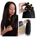 Peruvian Kinky Straight Virgin Hair 1 Bundle Deals Queen Hair Products Kinky Straight Bulk Hair For Braiding No Attachment