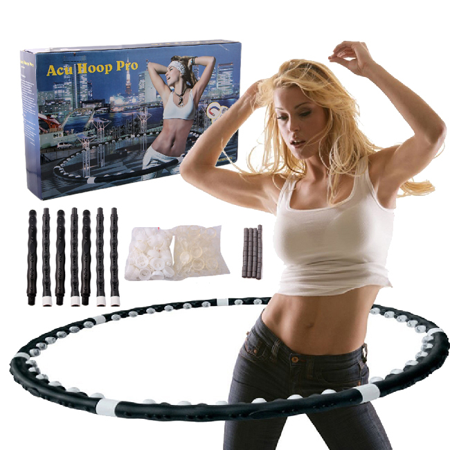 New Style Massaging Magnetic Hula Hoop Exerciser Equipment(China (Mainland))