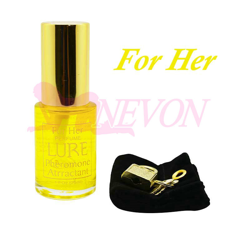 ( Women Use ) Golden Scent Lure Precious Irresistible Pheromone Sex Perfume - for HER, Erotic Sex Toys Adult Sex Products(China (Mainland))