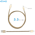YFW 3 3ft Micro USB Cable Fast Charging Nylon Braided Cable Date Line for Xiaomi Samsung