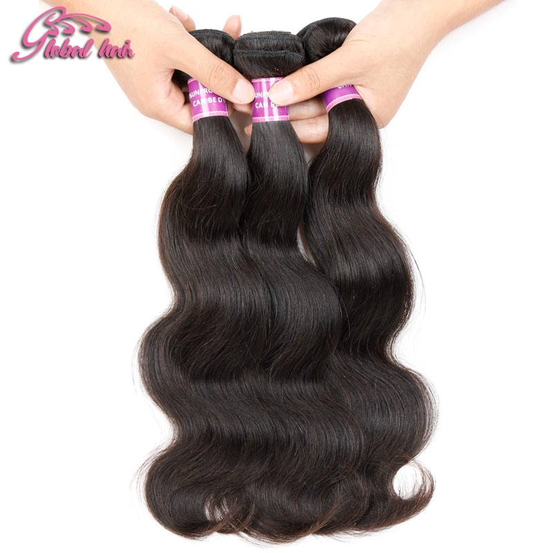 Global Hair 6A Unprocessed Malaysian Virgin Hair Extension Weft 4 Bundles 100% Human Hair Body Wave weaves 10-30 inch<br><br>Aliexpress