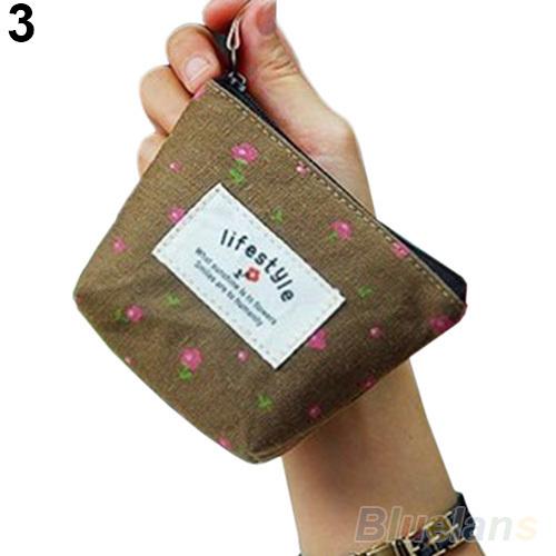 Cute Canvas Purse/Coin bag