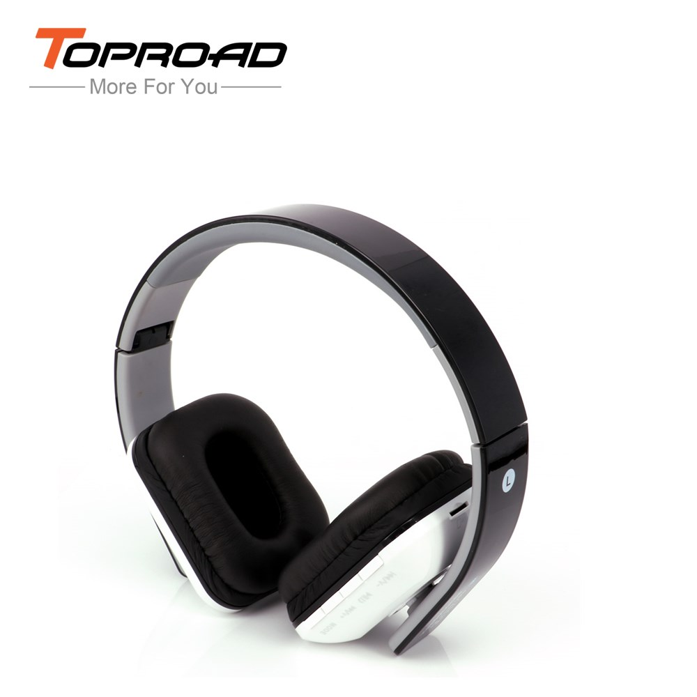 Wireless Bluetooth Stereo Headphone Multi-function Foldable Headset With Mic TF FM Radio Earphone MP3 Player for Smart Phone(China (Mainland))