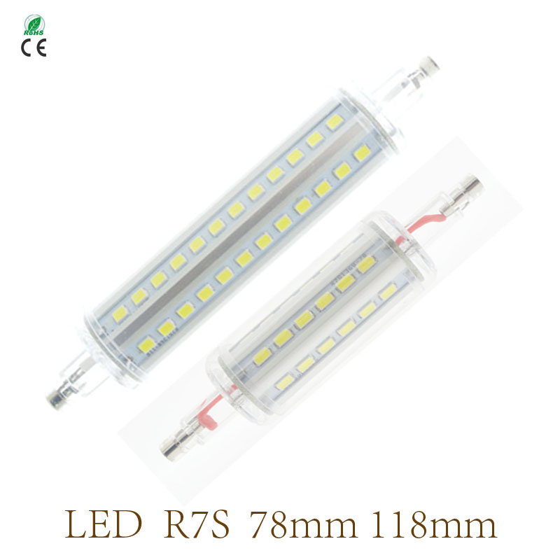7W 15W R7S LED 78mm 118mm 110V 220V 230V 240V R7S replace Halogen Lamps floodlight Warm white Cold white wholesale free shipping<br><br>Aliexpress