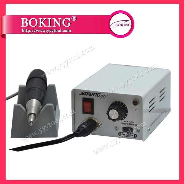 Strong 901 mini motor for jewelry polishing machine 35000rpm with 2.35mm shank jewelry tools with 5pcs free mini brush(China (Mainland))