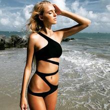 2016 New Sexy Women's One Piece Swimsuit Swimwear Bathing Monokini Push Up Padded Bikini Women's Swimming Suit Monokini Bikinis