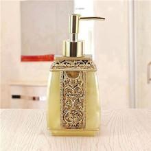 Bathroom Accessories Household Resin Liquid Soap Dispensers European Style(China (Mainland))
