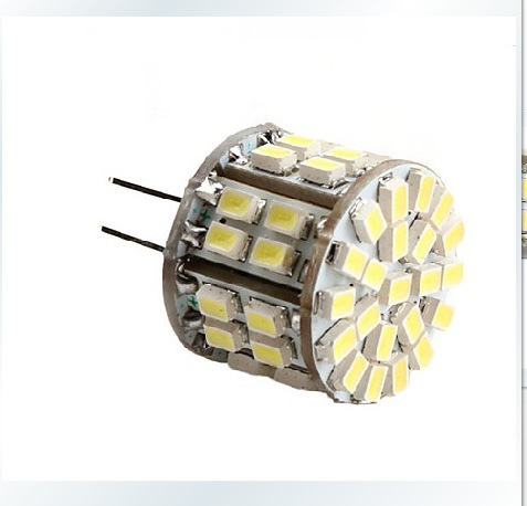 50pcs SMD3528 5W 12V led g4 light Replace 30W halogen lamp Bulb lighting warranty 2 years Frees shipping(China (Mainland))