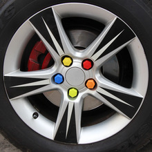 Buy Car Styling,20pcs Silica Gel Wheel Nuts Covers Protective For Peugeot 207 206 307 308 3008 2008 408 508 Citroen C4 C5 C6 DS LADA for $4.80 in AliExpress store