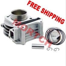 FREE SHIPPING! 139QMB 80cc(GY6 Big Bore) high performance cylinder kit for 50cc GY6 for Scooter ATV Go Karts Moped . (47mm)
