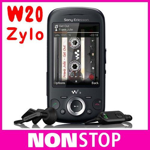 w20i Original Sony Ericsson Zylo W20 JAVA Bluetooth 3.15MP Unlocked Mobile Phone(China (Mainland))