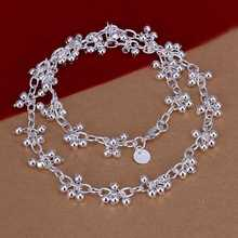 factory price top quality 925 sterling silver jewelry necklace fashion cute necklace pendant Free shipping SMTN156