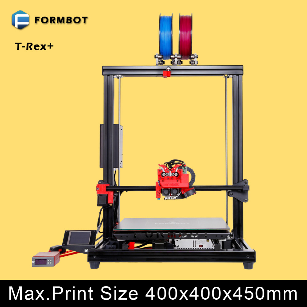 3D Printer equipped with KEENOVO silicone heating pad dual zone 200x200/400x400mm(China (Mainland))