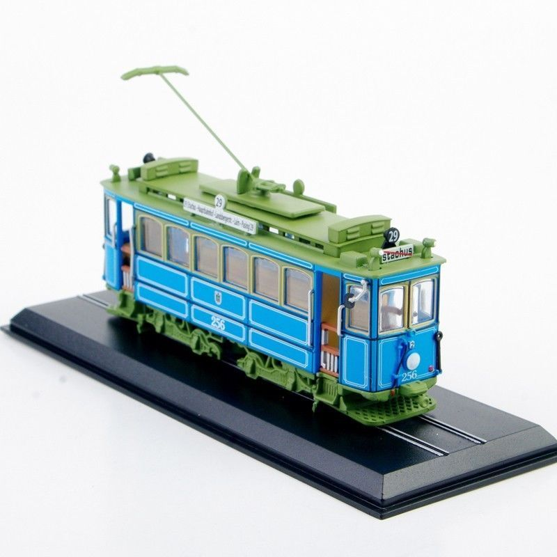 1/87 Truck Bus Model Train A2.2(rathgeber)-1901 Tram Atlas 1:87 Diecast Train Model Collectible Tram Vehicle Juguetes Model Toys(China (Mainland))