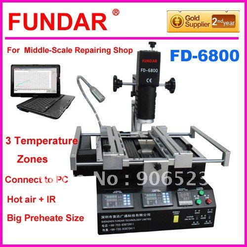 FD-6800 for computer laptop xbox360 ps3 BGA chip-level repairing software control system rework station(China (Mainland))