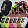 2016 new simple pedometer bracelet step tracker band Step Counting For sport passometer blacelet step tracker