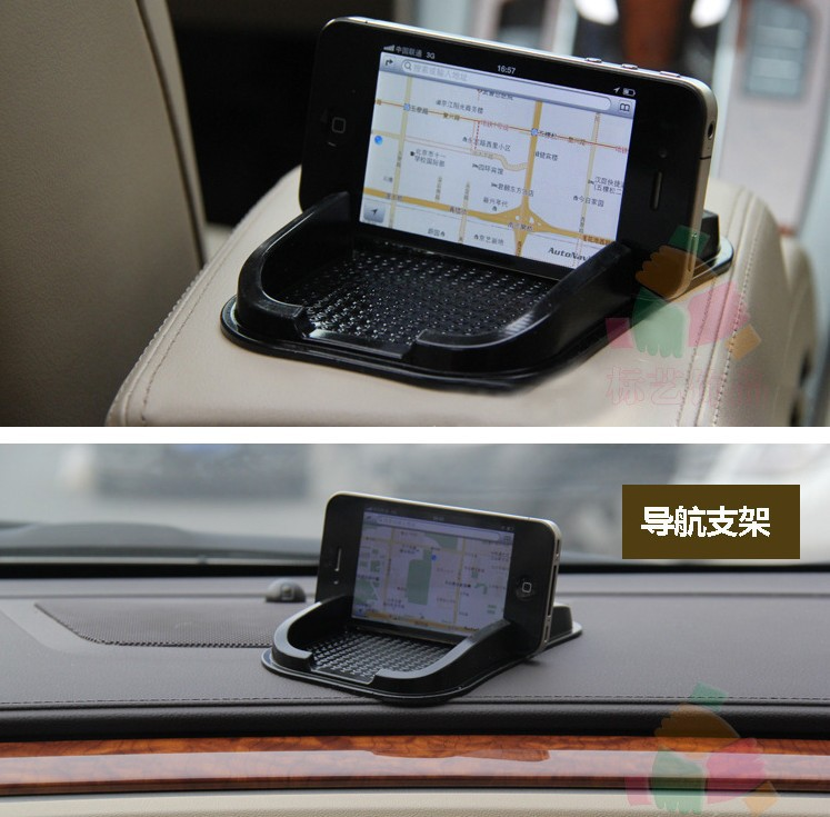 2015 Sticky Car Dashboard Mat Anti Non Slip Gadget Phone GPS Holder Stand Black - Chinabeauty store