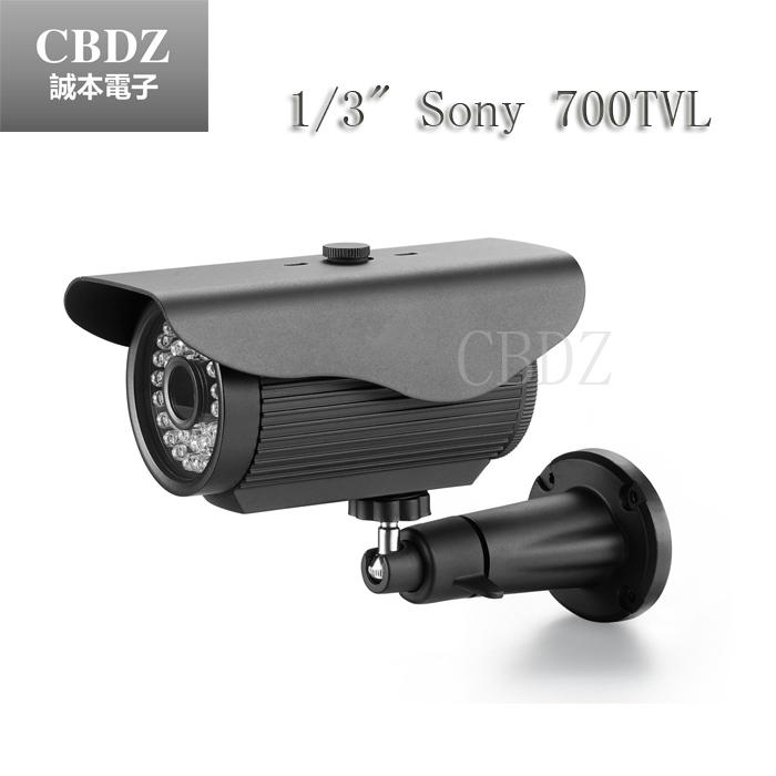Promotion Nice image 800TVL siamese bracket cctv camera 24 leds IR 30 meters security camera free shipping<br><br>Aliexpress