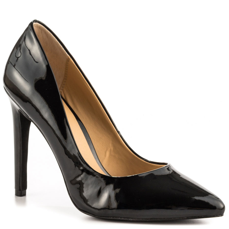 Big Size Women Pumps Shallow Pointed Toe Thin High Heels Summer Office Lady Patent Leather Shoes Feminina Style