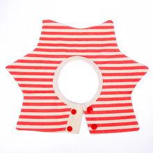 Baberos de bebé de estilo de flor de moda recién nacido, Bandana suave, redondo, 360 grados, giratorios, bebé, 4 capas, babero para alimentar bufanda(China)