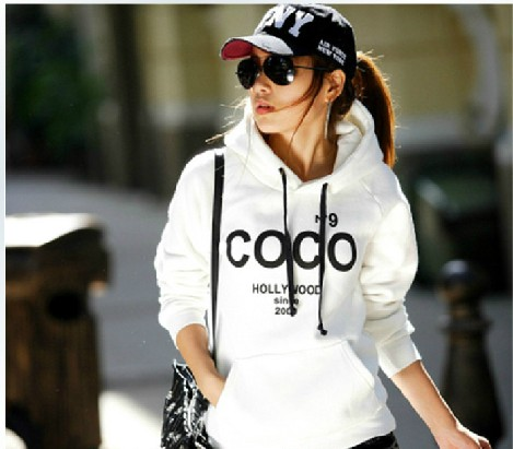 2015 New fashion moleton cc coco channel jackets hoodies sport suit Women Hooby Sweatshirt Pullovers Hoodie Femininos Casaco(China (Mainland))