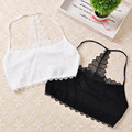 New Arrival 2016 Summer New Fashion Women Lace Strap Backless Wrapped Chest Shirt Tank Crop Top