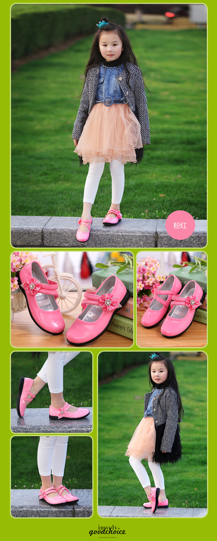 2016 Summer Girls Sandals Fashion Children Princess Dress Shoes PU Leather Female Child Flat Shoes Little Kid casual shoes