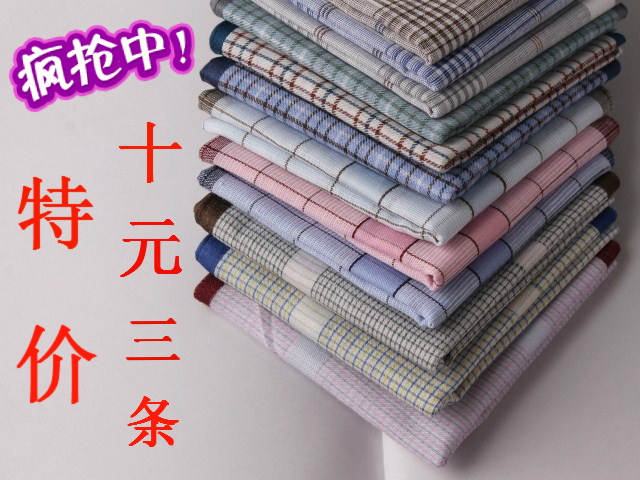 100% cotton handkerchief 100% cotton handkerchief male women's handkerchief
