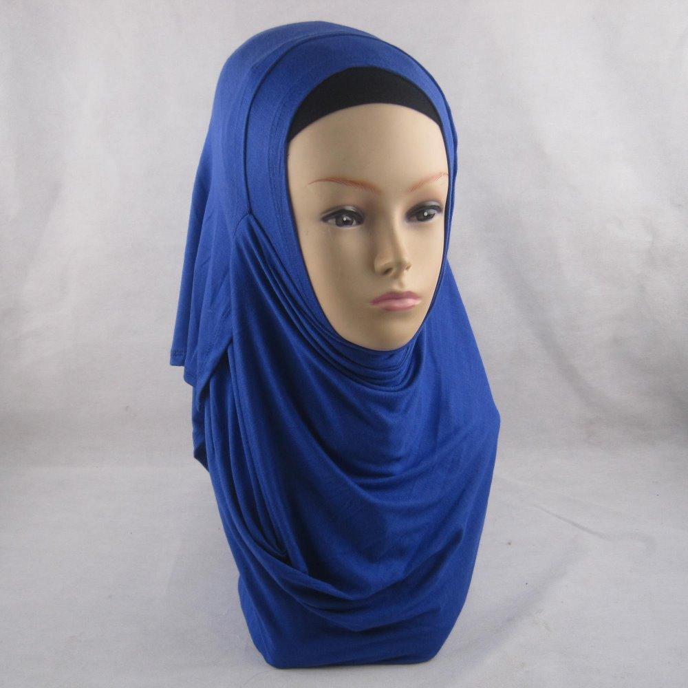 10pcs/lot two faces plain scarf wraps foulard cotton jersey shawls soft long islamic muslim scarves hijabs jd001(China (Mainland))