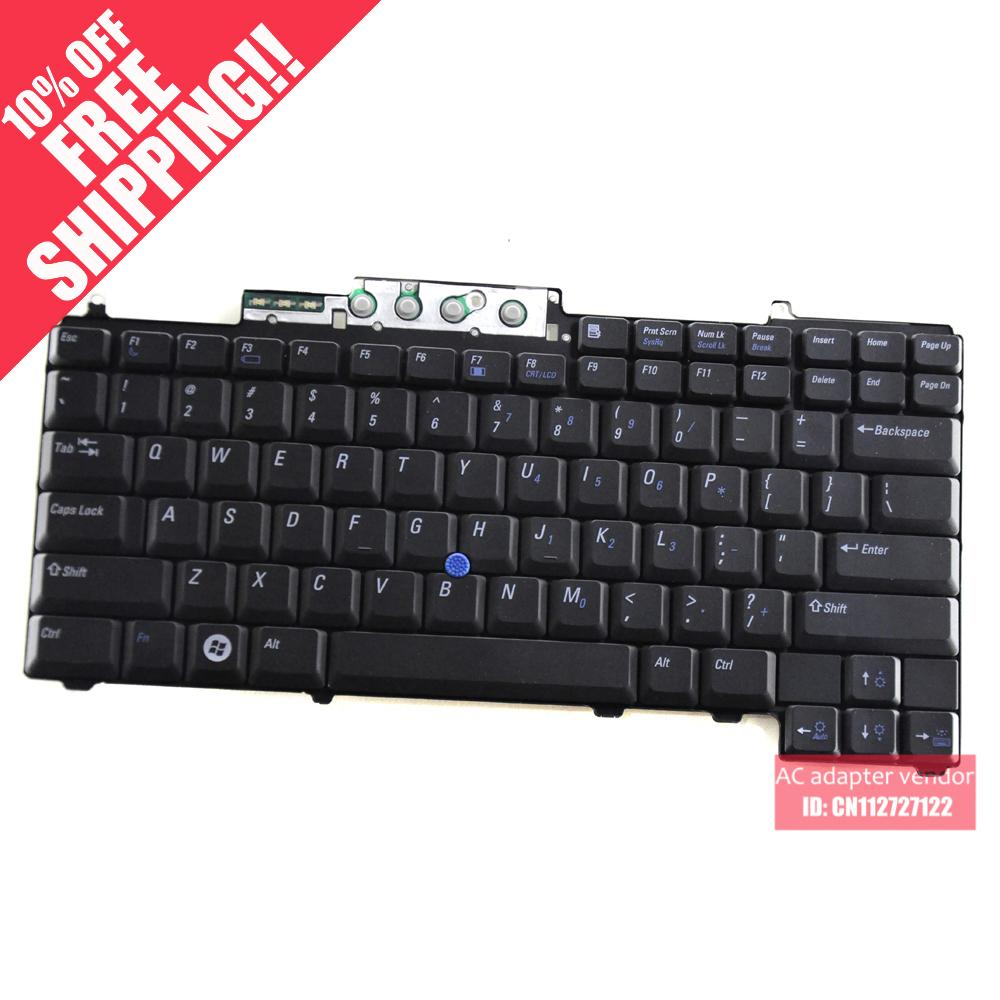 Replace 100% FOR DELL FOR DELL D820 D830 D620 M65 M4300 PP18L D631 D630 Keyboard(China (Mainland))