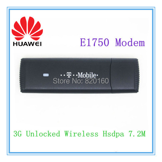 Huawei E1750 WCDMA 3G Wireless Network Card USB Modem Support Android tablet pc(China (Mainland))