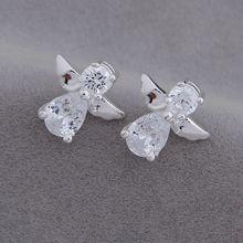 925-sterling-silver Earrings,925 jewelry silver platedfashion jewelry , angel /bijajzqa azqajqxa