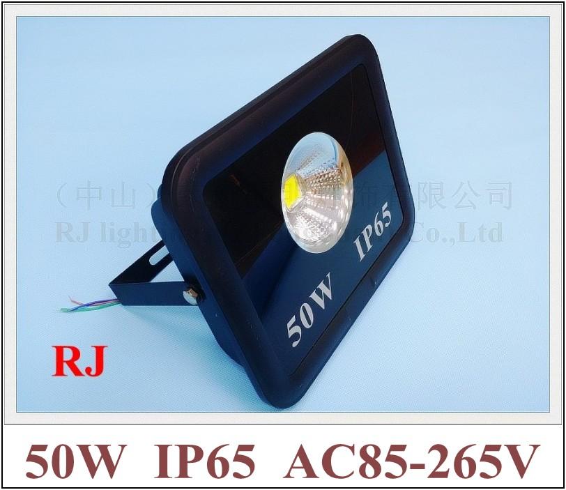 90 degree of emitting angle with cup shape reflector LED flood light floodlight spot light lamp 50W AC85-265V IP65 4000lm(China (Mainland))