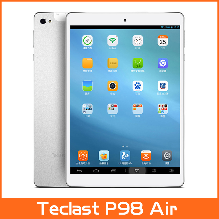 """In Stock! 9.7"""" Teclast P98 Air Tablet PC 9.7 Inch IPS Retina 2048x1536 Screen A80T Octa Core 2GB/32GB 13.0MP Camera(China (Mainland))"""