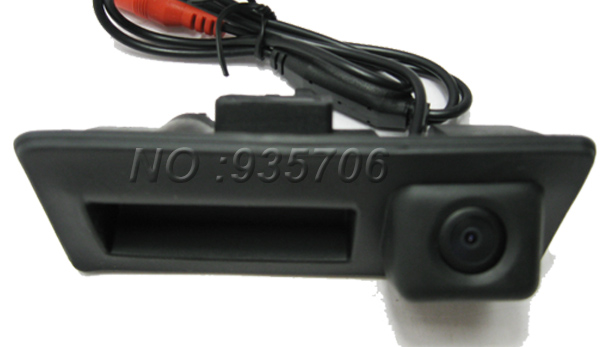 CCD rear view camera car reverse parking camera for VW passat/tiguan/Golf back-up rearview Automobile parking reverse camera(China (Mainland))